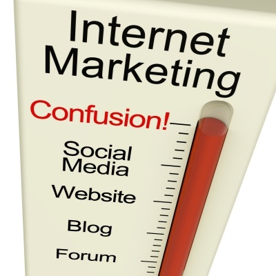 Internet Marketing Confusion Meter by Stuart Miles